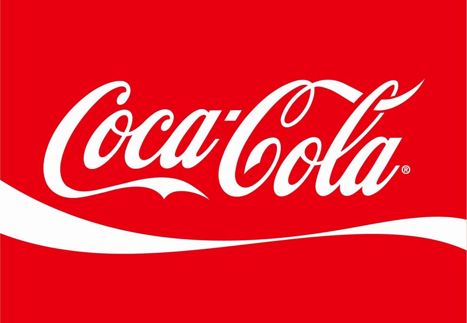 Logotipo rojo de Coca-Cola