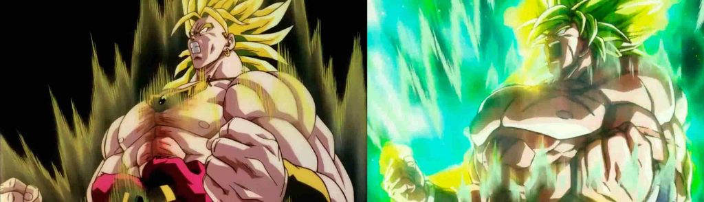 Comparativa animación Dragon Ball Super Broly