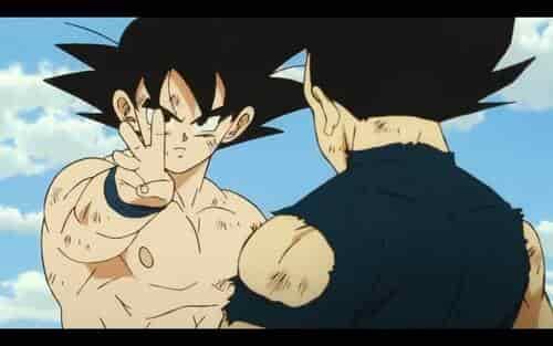 Poco detalle de animación en Dragon Ball Super Broly