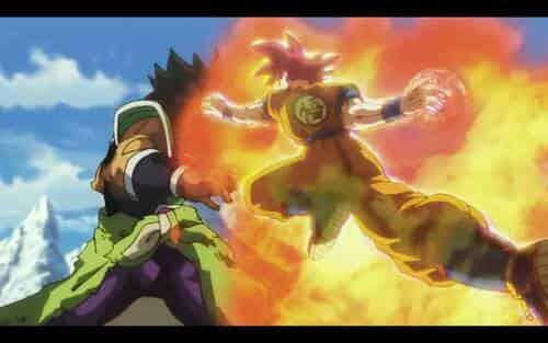 Super Saiyan Dios contra Broly