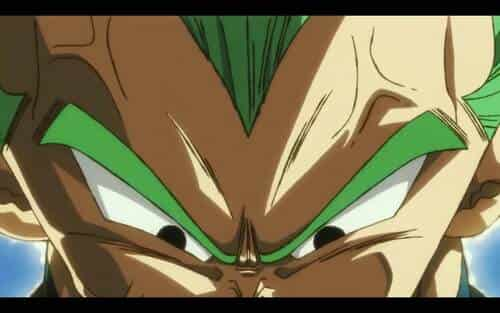 Vegeta se transforma en Super Saiyan