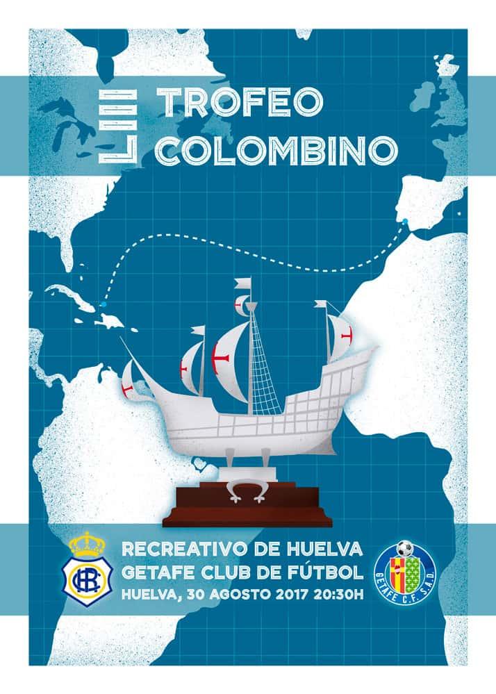 Diseño del cartel para el Recreativo de Huelva