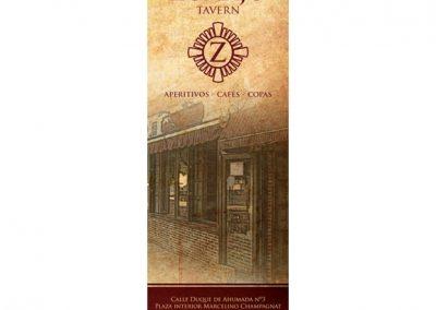 Carta Café Bar Zumajo