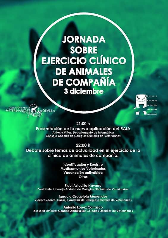 Jornada celebrada en el Ilustre Colegio Oficial de Veterinarios de Sevilla