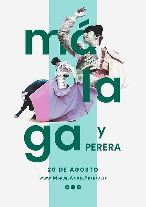 Miguel Ángel Perera en Málaga