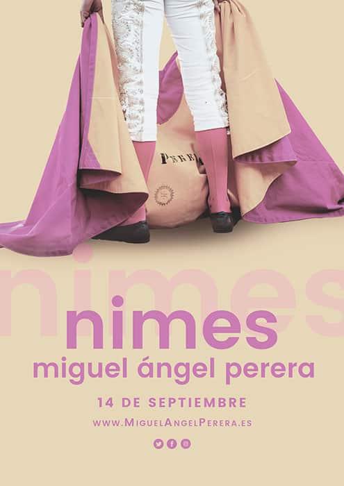 Miguel Ángel Perera en Nimes, Francia