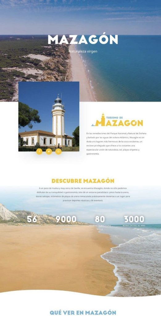 Promoción turística de Mazagón