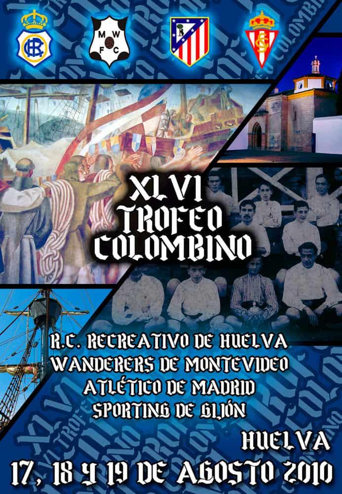 Diseño ganador del cartel del Trofeo Colombino Huelva
