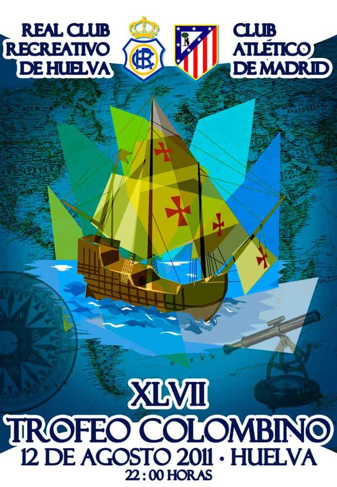 Diseño del cartel para Recreativo de Huelva