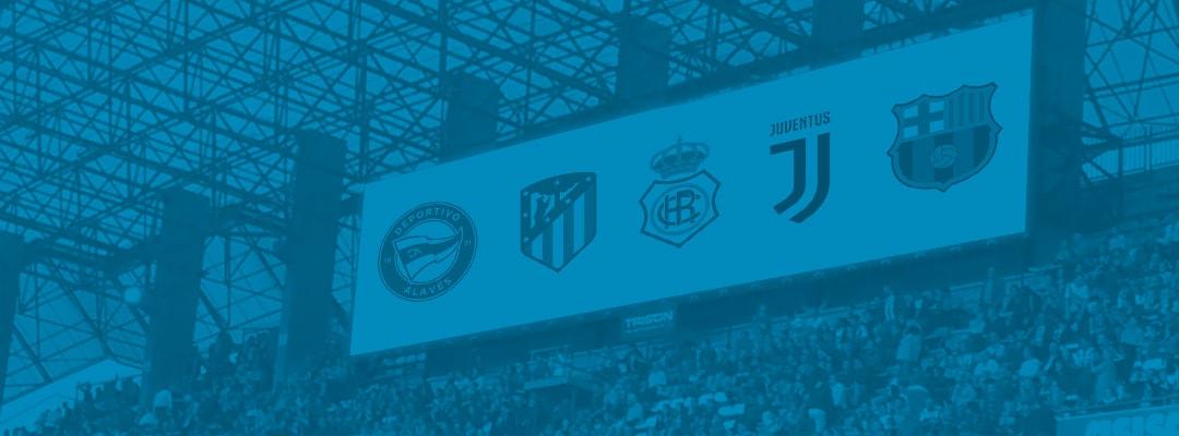 Rediseño de los escudos de equipos de fútbol