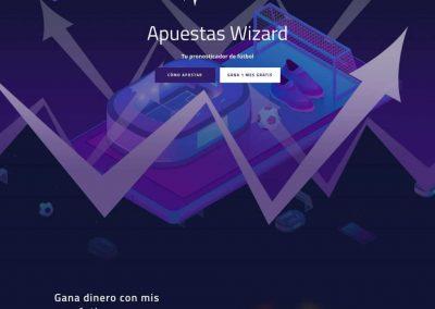 Web Apuestas Wizard