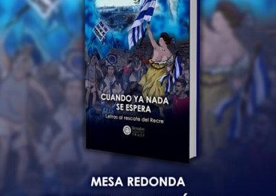 """Diseño y maquetación del libro """"Cuando ya nada se espera"""""""
