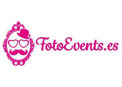 Diseño del logotipo de FotoEvents