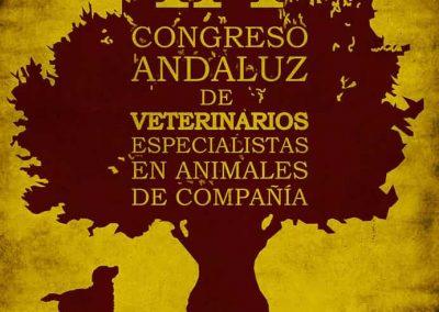 Cartelería y papelería del Congreso Andaluz Veterinario