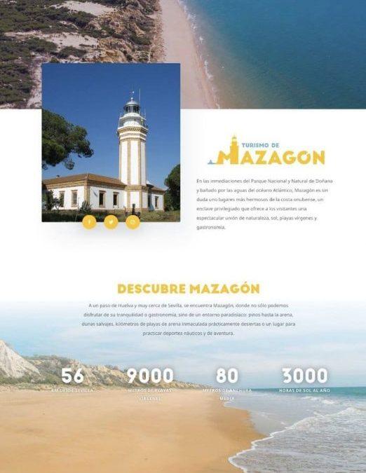 Web Turismo de Mazagón
